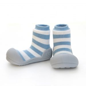 Baby shoes – blue stripes – Attipas