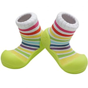 Baby shoes – rainbow verde – Attipas