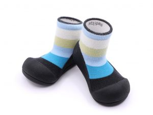 Baby shoes – rainbow blu – Attipas