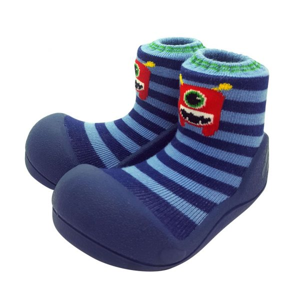 Baby shoes - monster blu - Attipas